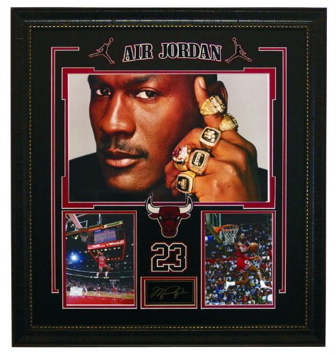 Amazon Michael Jordan 6 Ring Collage Sports Fan Prints And Posters Outdoors