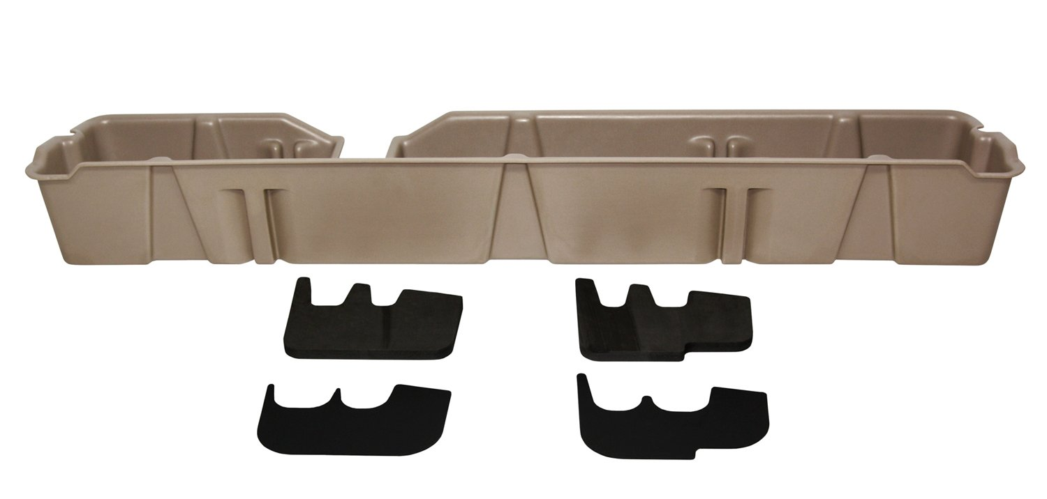 DU-HA Under Seat Storage Fits 09-14 Ford F-150 Supercab, Tan, Part #20073