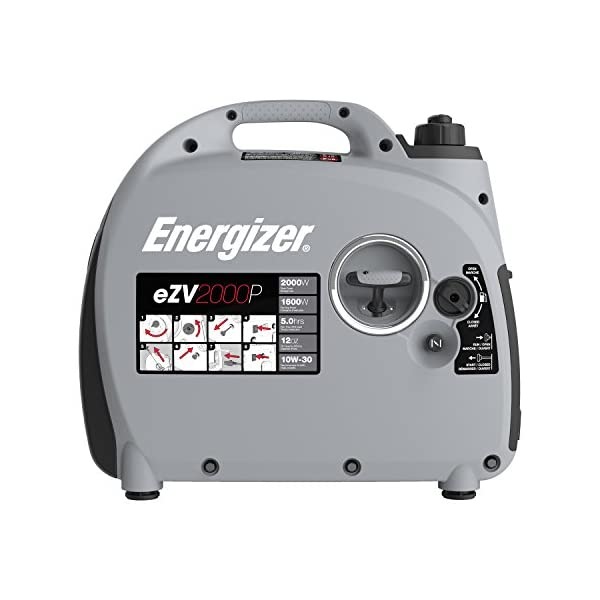 Energizer-eZV2000P-2000W-Gas-Powered-Portable-Inverter-Generator-with-Parallel-Capability-Grey-Black
