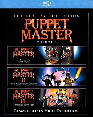 Puppet Master, Vol. 1 (Puppet Master / Puppet Master 2 / Puppet Master 3) [Blu-ray] by Full Moon Features