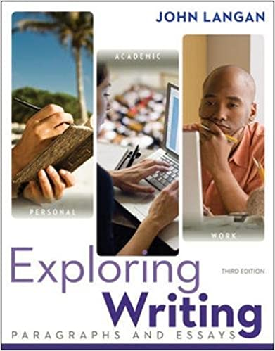 exploring writing john langan 3rd edition
