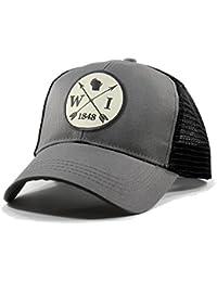 Men's Wisconsin Arrow Patch Trucker Hat