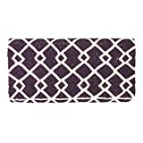 From St Xavier Madison Beaded Clutch, Purple/Ivory