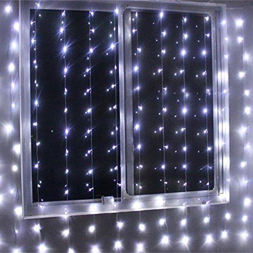 Black Led Light Curtain - 8