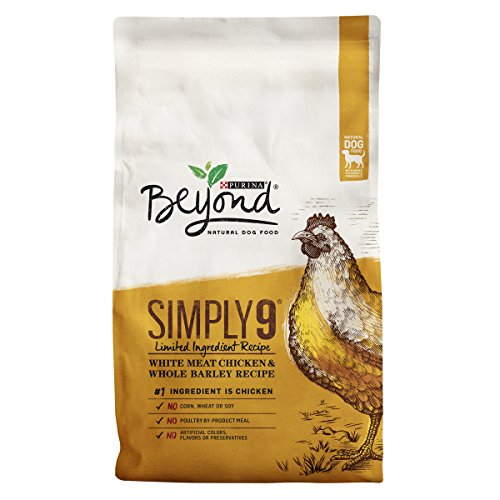 Purina Beyond Simply 9 Natural Limited Ingredient, Chicken & Barley Recipe Dry Dog Food, 24lb bag