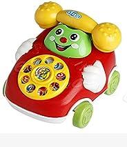 yiiena Baby Toys Cartoon Car Phone Kids Educational Developmenta Push & Pull