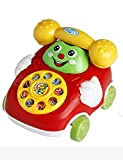 Kecooi Lovely Kids Small Baby Car Cartoon Buttons Phone Educational Intelligence Developmental Toy