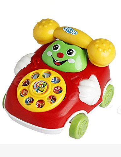 Benlet Baby Toys Cartoon Car Phone Kids Educational Developmenta Push & Pull Toys