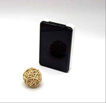 XINGXX Estuche para lentes de contacto Lentes de colores para ojos Estuche para lentes de contacto Estuche con tapa de lujo Estuche Fashion In Eyes Estuche con pinzas para lentes Negro: Amazon.es:
