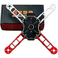 powerdayMini 250 Totem Q250 4-Axis Mini Quadcopter Frame Kit Integrated PCB Wiring Unassembled