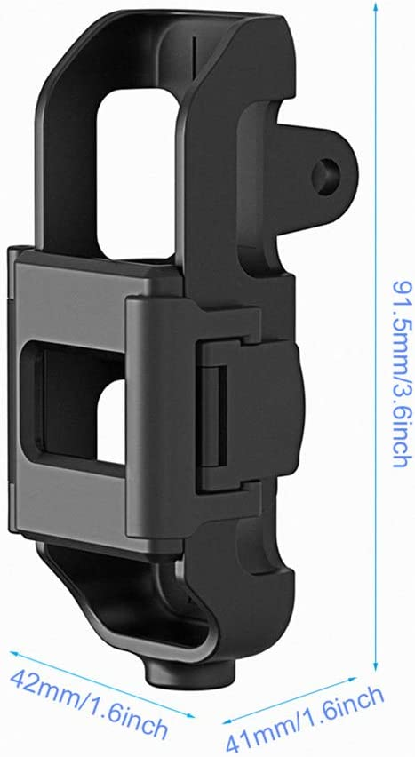 Mount Bracket Holder with 1//4 Screw for DJI Osmo Pocket Camera Interface /& Action Cam Mount for Tripod Selfie Stick Bicycle