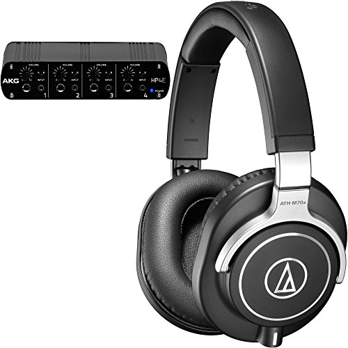 Audio-Technica & AKG Headphone Pack with ATH-M70x Monitoring