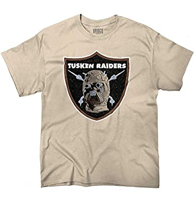 Tusken Raiders Funny Football Oakland Raiders Funny Star Wars T-Shirt Tee