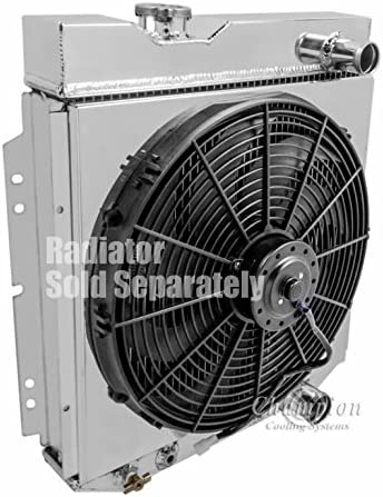 3Row All Aluminum Radiator For 1964-1966 Ford Mustang Falcon Mercury Comet CC259
