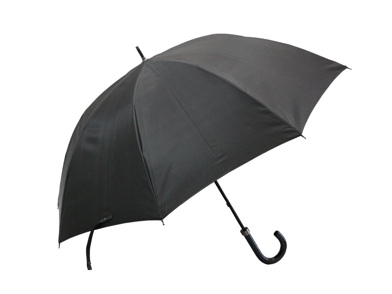 [バーバリー] BURBERRY 裏チェック柄紳士用雨傘 カーキ B00HPQJQS4