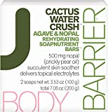 Body Barrier Cactus Water Crush Agave & Nopal Rehydrating Soapnutrient Soap Bars, 2 Pack, 7.06 oz