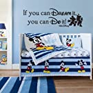 Disney Inspired If You Can Dream It You Can Do It Wall Decal Sticker