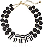 """kate spade new york """"The Right Stripe"""" Statement Necklace,  17"""" + 3"""" Extender"""