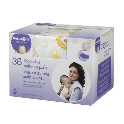 Babies R Us Disposable Multi Use Pads - 36 Count
