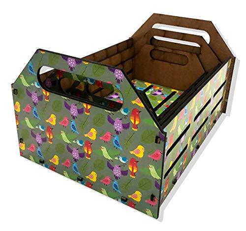 Kit Caixa Decorativa - Pássaro Mod 2