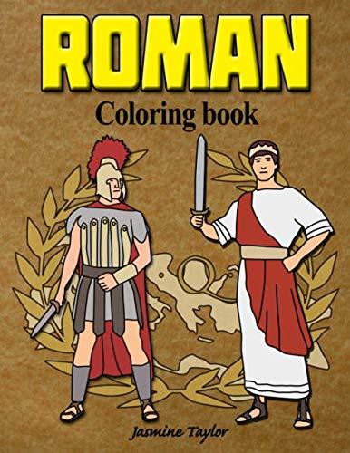 Roman Coloring Book -