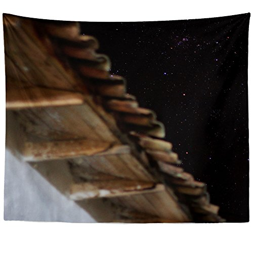 Outdoor Hanging Estrella (Westlake Art - Sky Night - Wall Hanging Tapestry - Picture Photography Artwork Home Decor Living Room - 68x80 Inch (42E8D))