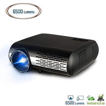 Proyector de Video para Full HD 4K * 2K Proyector de Cine en casa ...