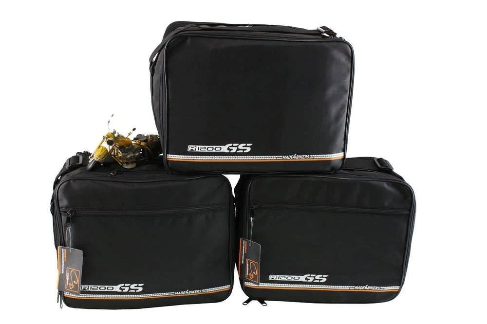 Made4bikers Kit complet de sacoches inté rieures pour TopCase et coffre de moto CHB-IuV
