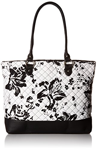 parinda-womens-allie-fabric-with-faux-leather-tote-black-floral