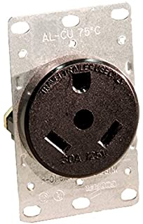 amazon com camco 55245 rv 30 amp powergrip replacement plug leviton 7313 30 amp 125 volt nema tt 30r 2p 3w