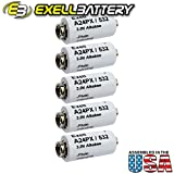 5pc Exell A24PX 3V Alkaline Battery V24PX RPX24 532 PX24 EPX24 2LR50