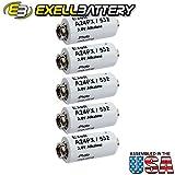 Exell Battery A24PX 3-Volt Alkaline Battery (White)