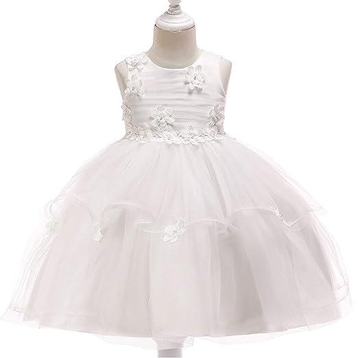 Vestido Fiesta Niña Falda Princesa Bebé Disfraz de Ceremonia ...