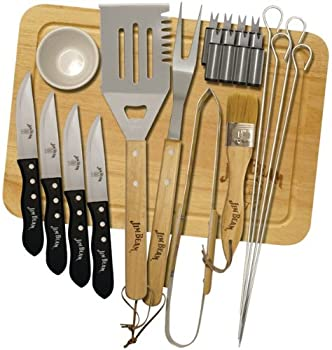 Jim Beam 22-Pc. BBQ Deluxe Grilling Set