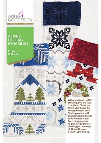 Stocking Embroidery Design (Anita Goodesign Embroidery Designs Alpine Holiday Stockings)
