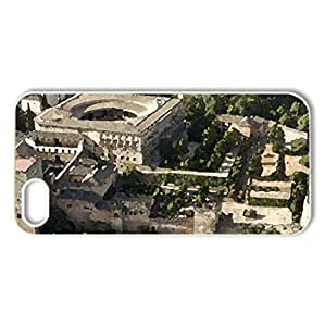 Alhambra, Granada, Spain - Case Cover for iPhone 5 and 5S (Watercolor style, White)