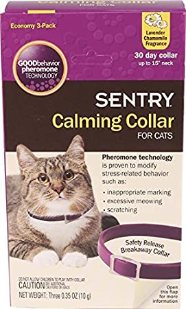 Amazoncom SENTRY Calming Collar For Cats Count Pet - 21 cats losing fight against technology