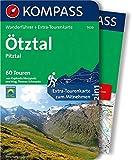 Ötztal, Pitztal: Wanderführer mit Extra-Tourenkarte 1:50.000, 60 Touren, GPX-Daten zum Download: Wandelgids met overzichtskaart (KOMPASS-Wanderführer, Band 5630)