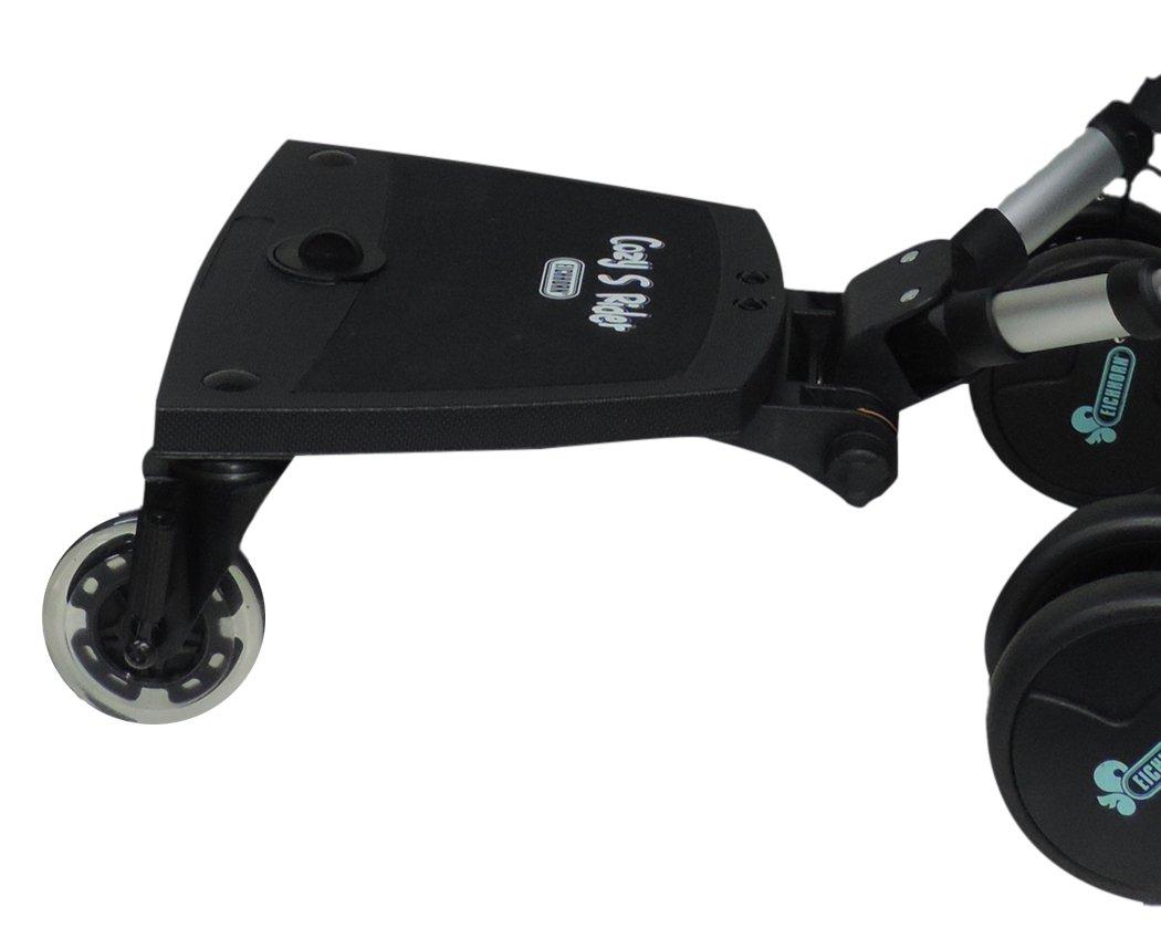 Eichhorn Cozy S Rider - Asiento para cochecito de niños negro negro Talla:universal CozySRiderSitz