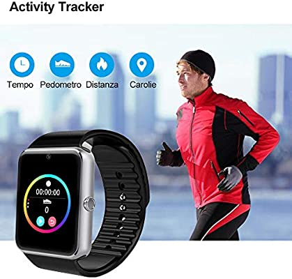 willful Smartwatch Android iOS Smart Watch Phone Cuello para ...