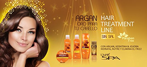 Amazon.com : LMar Spa Argan Oil Mask Profesional Hair Care | Mascarilla con Aceite Argan para Cabello Cuidado Prosesional 8.1oz-240gr : Beauty