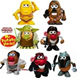 Star Wars Hasbro Mr. Potato Head 7 pcs. Set Disney Exclusive