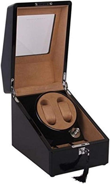 Clock box Caja de Reloj de Pintura de Piano automática giratoria Negra y automática Caja de Reloj de 2 + 3 Cajas Caja de Reloj: Amazon.es: Hogar