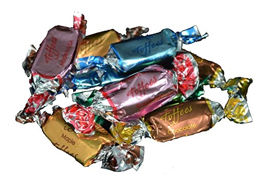Assorted Foil Wrapped Toffees - 5 lb.