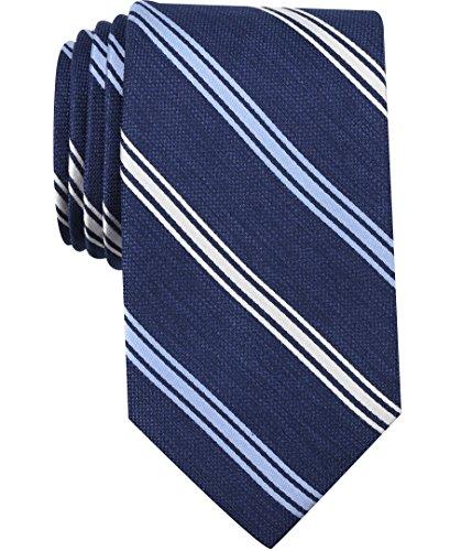 Nautica (NAV5C) Men's Bilge Stripe Tie, slate blue, One Size