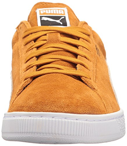 PUMA Men's Suede Classic + Fashion Sneaker Inca Gold-puma White in China clearance discounts cheap footlocker hot sale cheap price from china sale online cH10E6XQj