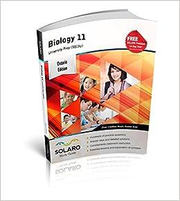 Biology 11, University Prep (SBI3U) SOLARO Study Guide: SOLARO