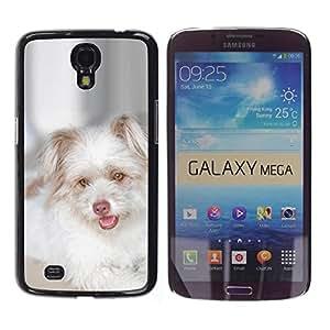 Be Good Phone Accessory // Dura Cáscara cubierta Protectora Caso Carcasa Funda de Protección para Samsung Galaxy Mega 6.3 I9200 SGH-i527 // West Highland White Terrier Puppy