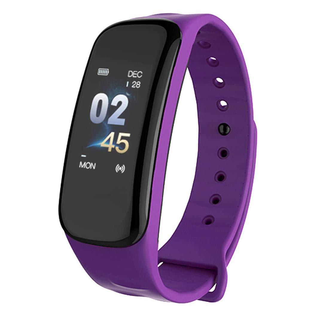 nuiko Hombres Mujeres Bluetooth Smartwatch LED Digital multifunción Sport Fitness Reloj Inteligente Pulsera Brazalete Relojes para Android iPhone iOS