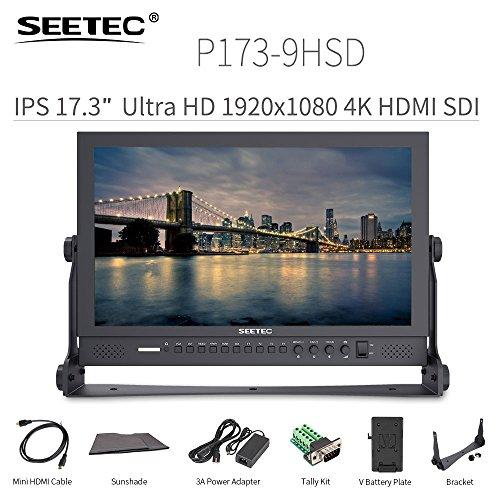 "SEETEC P173-9HSD 17.3"" IPS Full HD 4K 1920×1080 3G -SDI HDM"